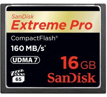 SanDisk CompactFlash Extreme Pro 16GB 160MB/s - SDCFXPS-016G-X46