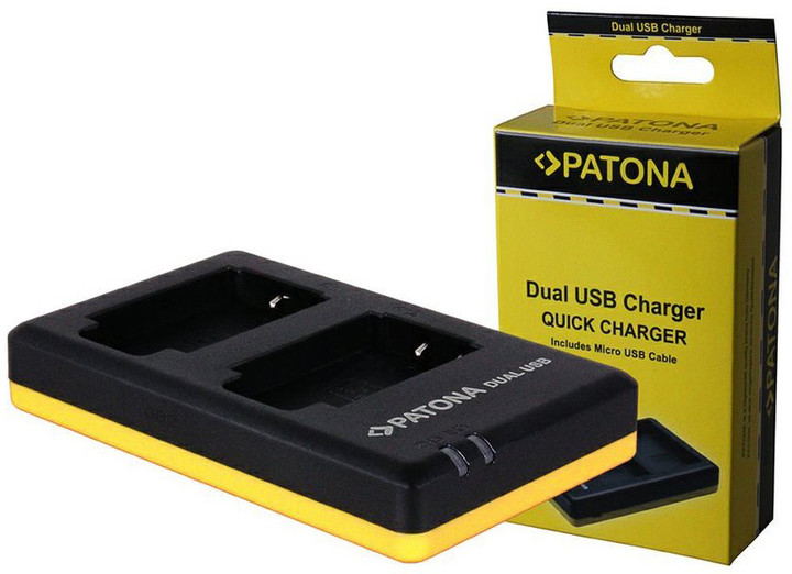 Patona nabíječka pro foto Dual Quick Sony NP-BN1 USB
