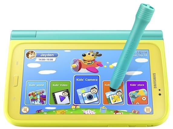 Samsung pouzdro se stylusem EF-PT210BME pro Tab3 Kids, mátová