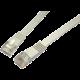 Solarix Patch plochý (cat5e) UTP, šedý, 1m
