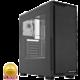 SilentiumPC Regnum RG1W Pure Black, okno, černá