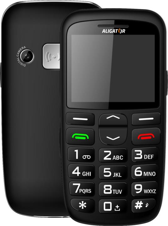 Aligator A680, černá