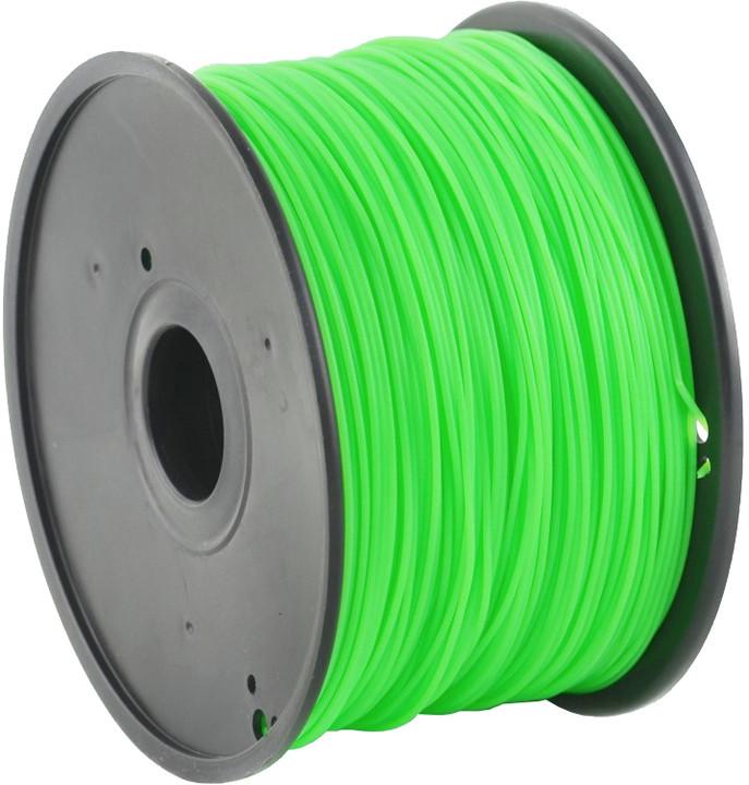 Gembird tisková struna (filament), PLA, 1,75mm, 0,6kg, zelená
