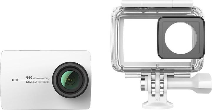 Xiaomi Yi 4K Action Camera 2 Waterproof Set, bílá