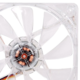 Thermaltake Pure 12 LED White, 120mm