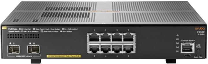 HP Aruba 2930F 8G PoE+ 2SFP+
