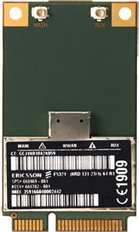 HP hs2350 HSPA+ Mobile Broadband (3G modul)