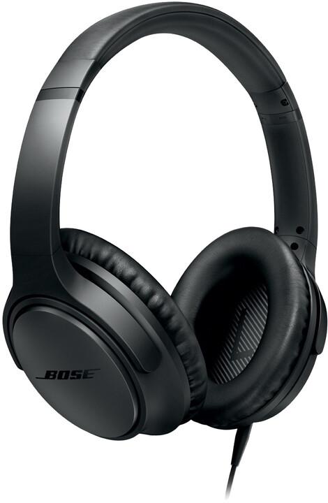 Bose SoundTrueAE2 Headphone, černá