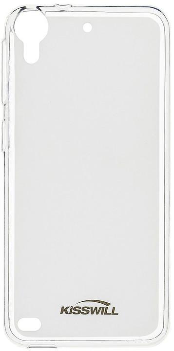 Kisswill TPU pouzdro pro HTC 628, transparentní