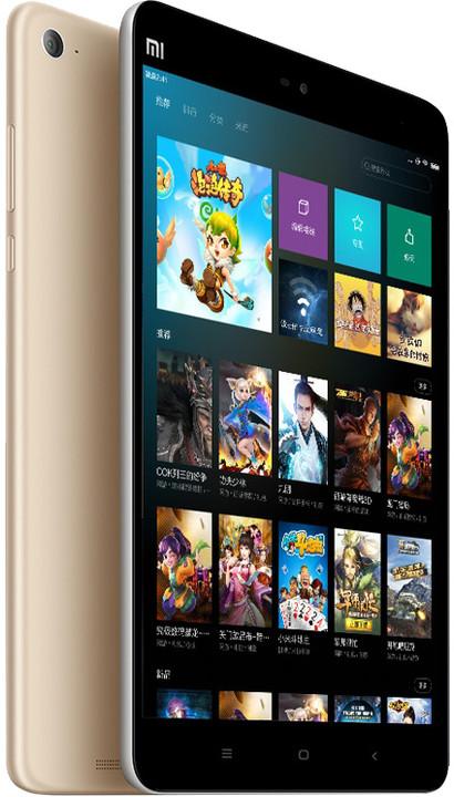 Xiaomi MiPad 2 - 16GB, zlatá