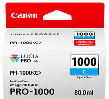 Canon PFI-1000C, cyan - 0547C001