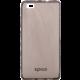 EPICO pružný plastový kryt pro Huawei P8 Lite RONNY GLOSS - černý transparentní