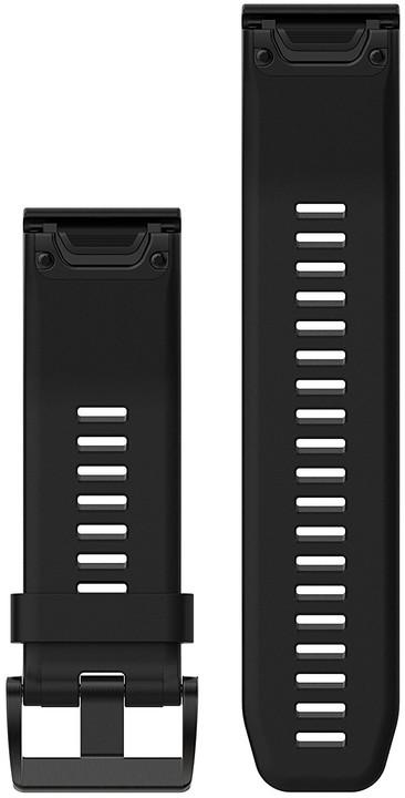 GARMIN náhradní řemínek pro Fenix 5X a Fenix 3 QuickFit™ 26, černý