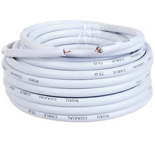 AQ KVX250, anténní koax kabel průměr 6,8mm, 75 ohm, bez konektorů, 25m - xkvx250