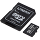 Kingston Industrial Micro SDHC 32GB Class 10 UHS-I + SD adaptér