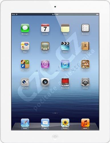 APPLE Nový iPad (3.generace), 32GB, Wi-Fi, bílá