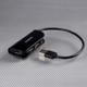AXAGON externí 4x USB2.0 READY BLACK hub