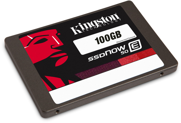 Kingston SSDNow E50 - 100GB