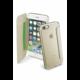 CellularLine Clear Book průhledné pouzdro typu kniha pro Apple iPhone 7, zlatá
