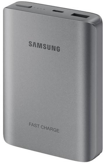 Samsung PowerBank 10200 mAh, fast charge, USB type C, stříbrno-šedá