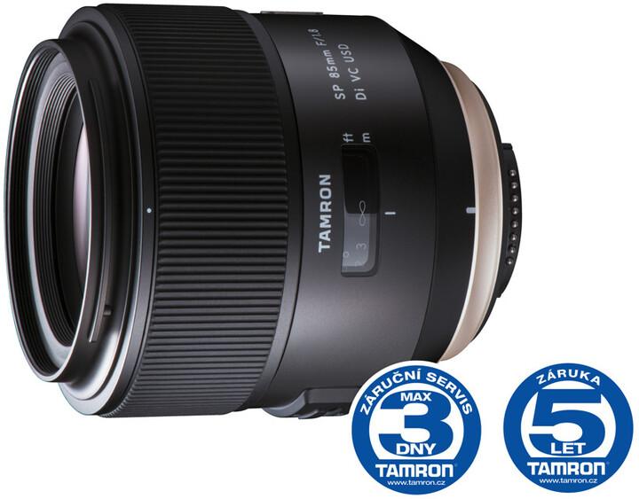 Tamron AF SP 85mm F/1.8 Di USD pro Sony