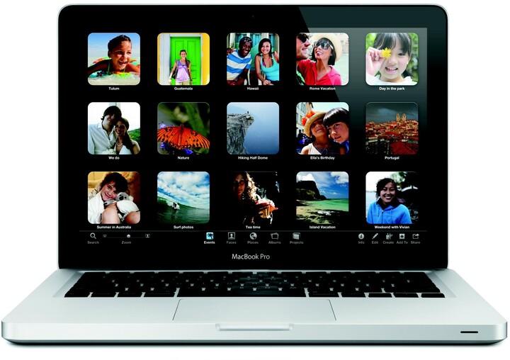 """Apple MacBook Pro 13"""" CZ, stříbrná"""