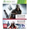 Assassins Creed: Revelations + Brotherhood double pack - X360