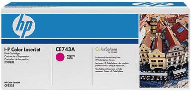 HP CE743A, purpurová