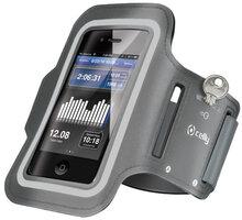 CELLY sportovní neoprénové pouzdro pro Apple iPhone 6 Plus, šedá