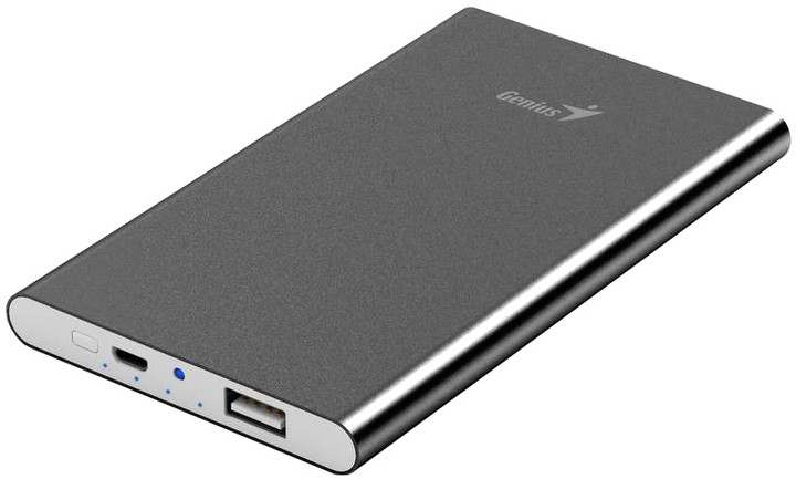 Genius powerbank ECO-u540, šedá