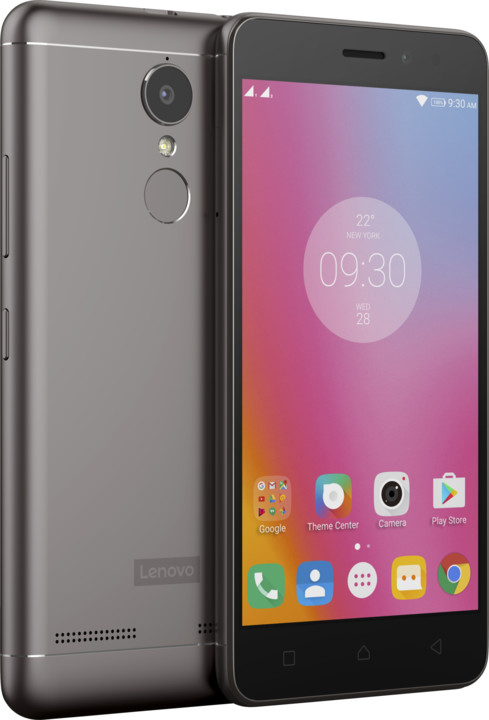 Lenovo K6 Power - 16GB, Dual SIM, LTE, šedá