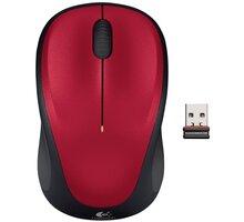 Logitech Wireless Mouse M235, červená - 910-002496