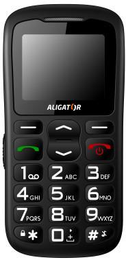 Aligator A430, černošedá