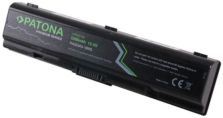 Patona baterie pro ntb TOSHIBA SATELLITE A200 5200mAh Li-Ion 10,8V PREMIUM