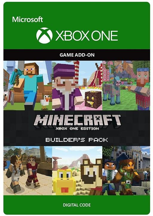 Minecraft: Xbox One Edition: Builder's Pack (Xbox ONE) - elektronicky