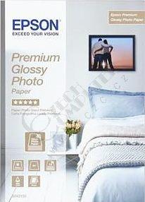 Epson Foto papír Premium Glossy, A4, 15 ks, 255g/m2, lesklý