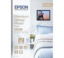 Epson Foto papír Premium Glossy, A4, 15 ks, 255g/m2, lesklý - C13S042155