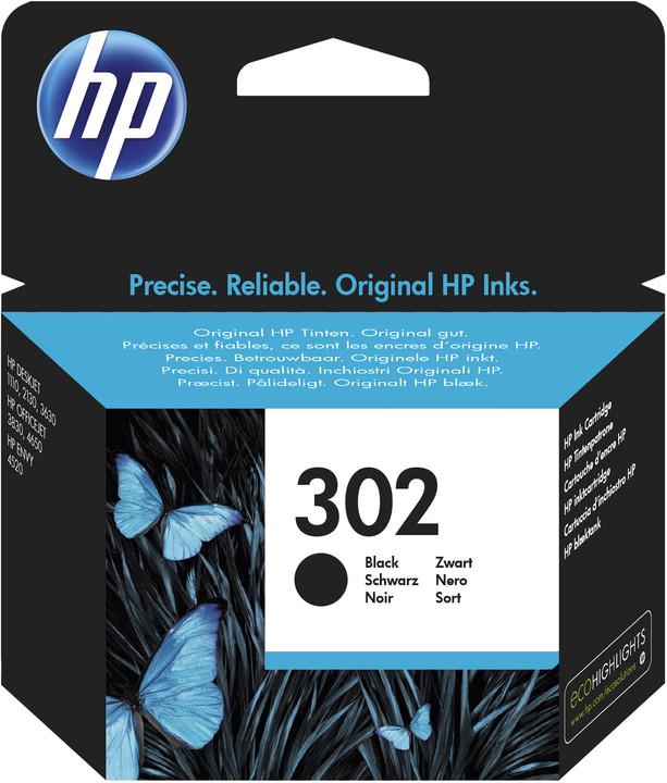 HP F6U66AE, černá, č. 302