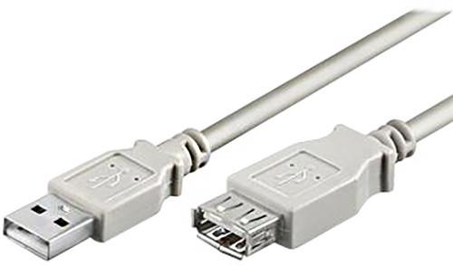PremiumCord USB, A-A prodlužovací, 20 cm