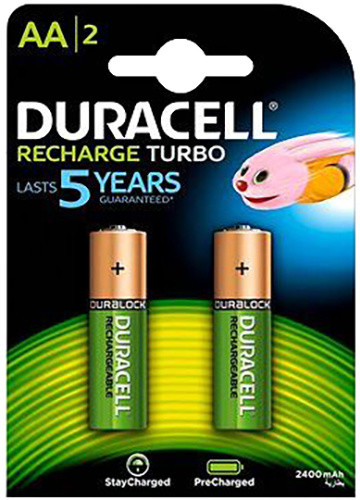 Duracell StayCharged AA 2400 mAh, 2 ks