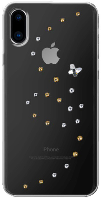 Bling My Thing Papillon Angel Tears zadní kryt pro Apple iPhone X, krystaly Swarovski®
