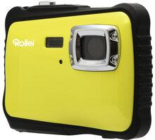 Rollei Sportsline 65, voděodolný, žlutá/černá, brašna - 10060