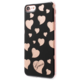 Guess Hearts TPU Pouzdro Black pro iPhone 7