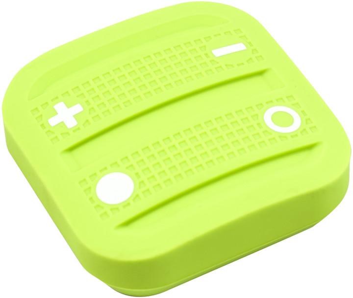 Fibaro NodOn Soft Remote, magnetické bateriové 4tlačítko na zeď, zelená