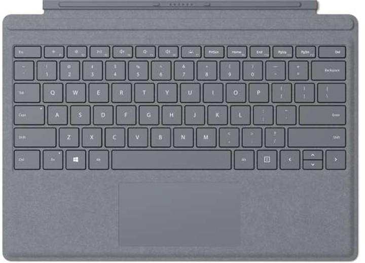 Microsoft Surface Pro 4 Type Cover, platinum