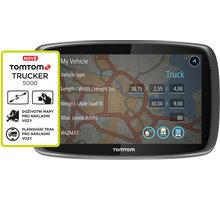 TOMTOM TRUCKER 5000, Lifetime mapy - 1FL5.002.11