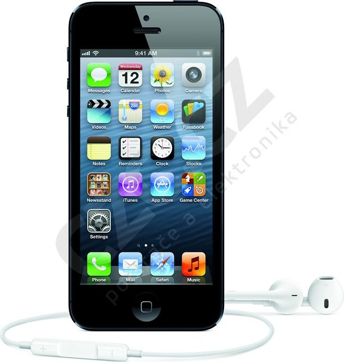 iphone 5 refurbished apple iphone 5 16gb čern 253 apple refurbished czc cz 11030