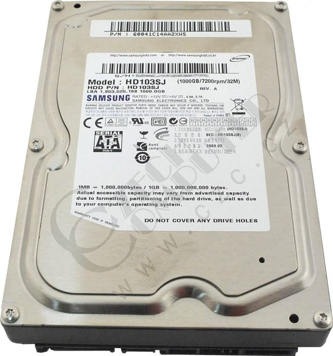 Samsung SpinPoint F3 - 1TB