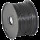 Gembird tisková struna (filament), PLA, 1,75mm, 1kg, černá