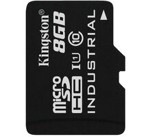 Kingston Industrial Micro SDHC 8GB Class 10 UHS-I - SDCIT/8GBSP